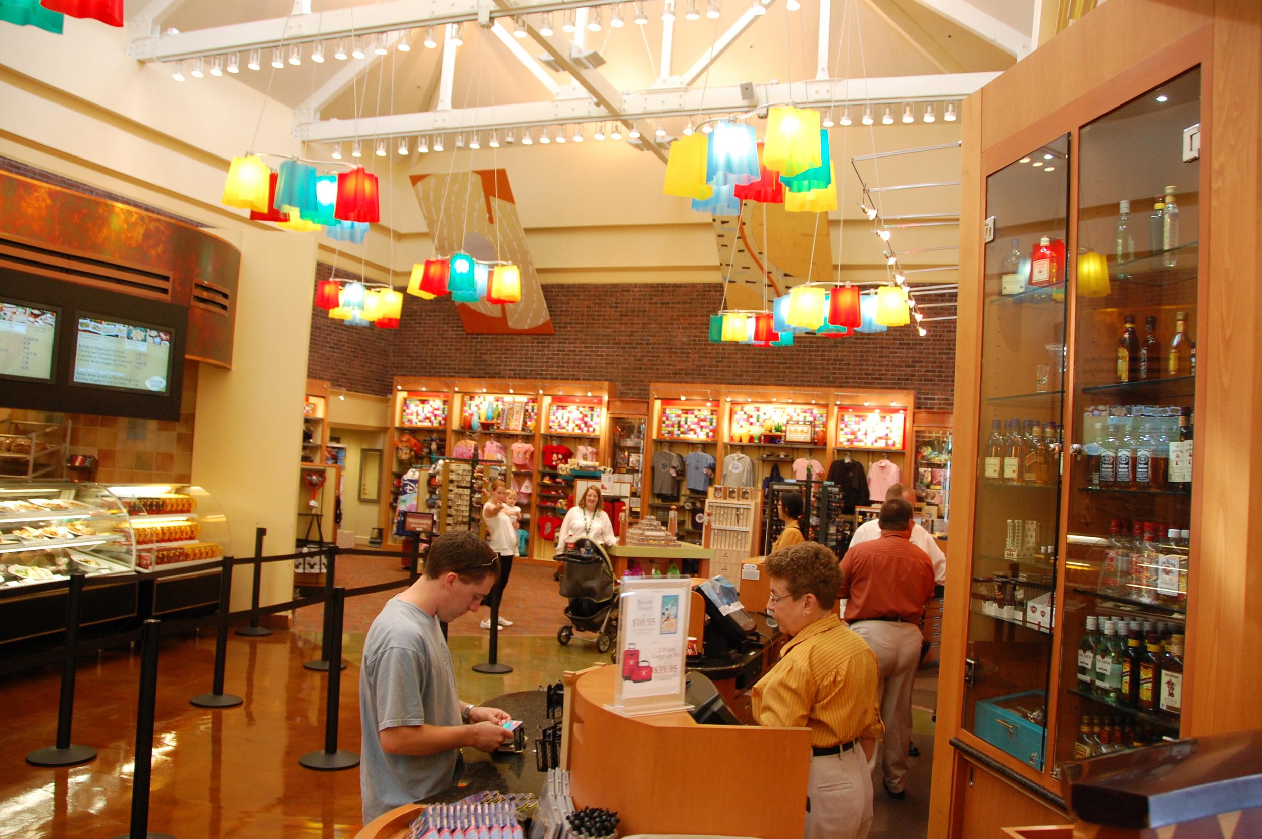 Artists Palette Gift Shop