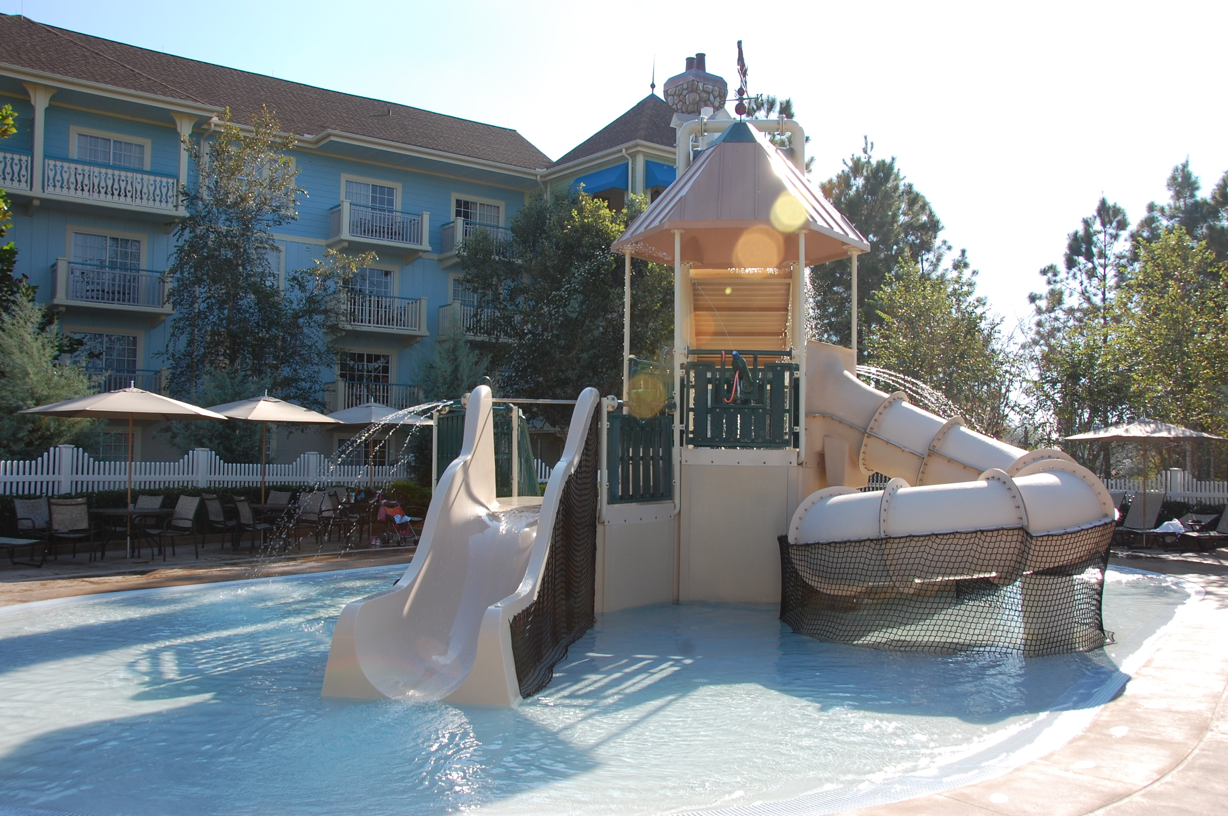 Paddock Water Play Area