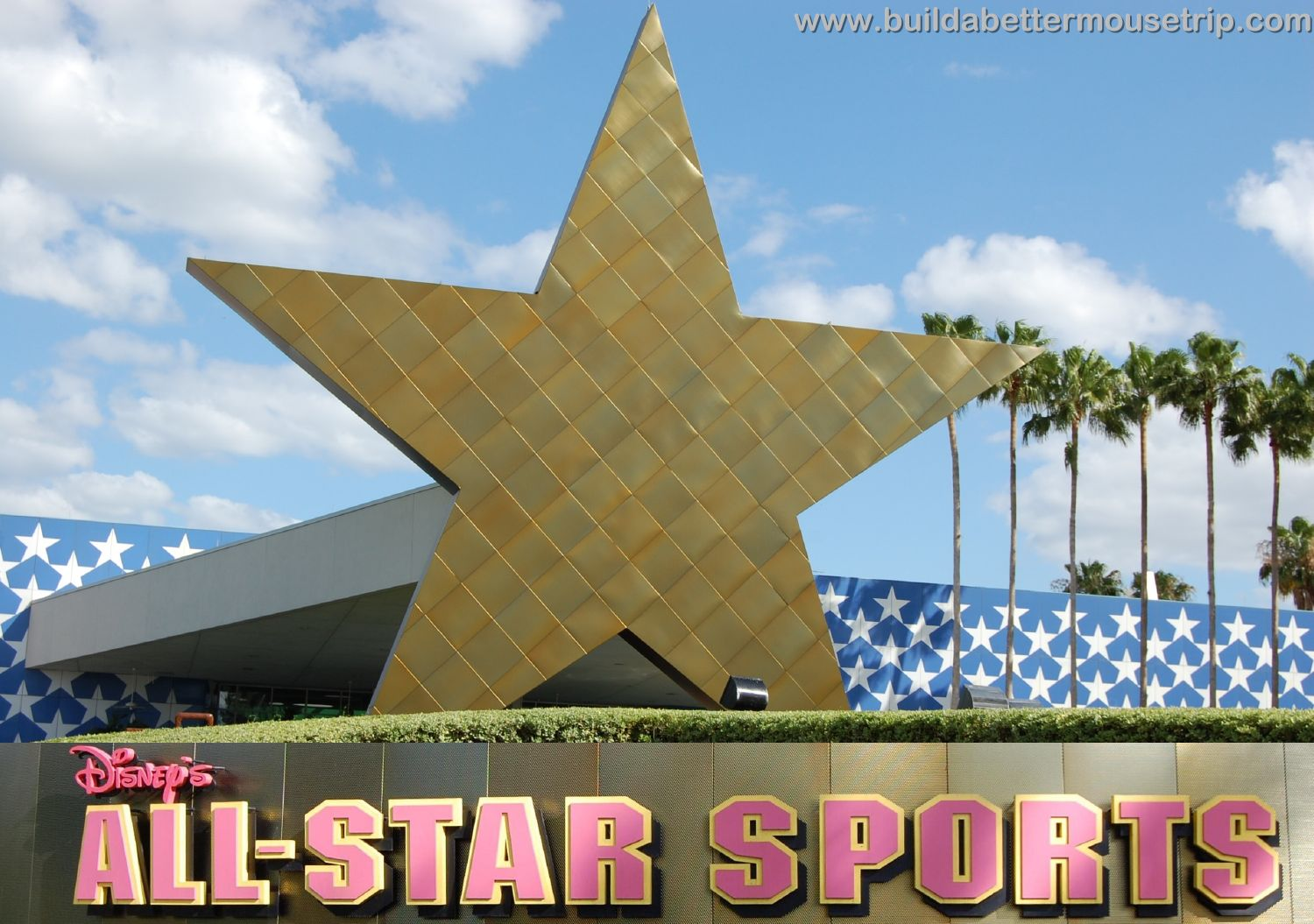 Disney's All Star Sports Entrance