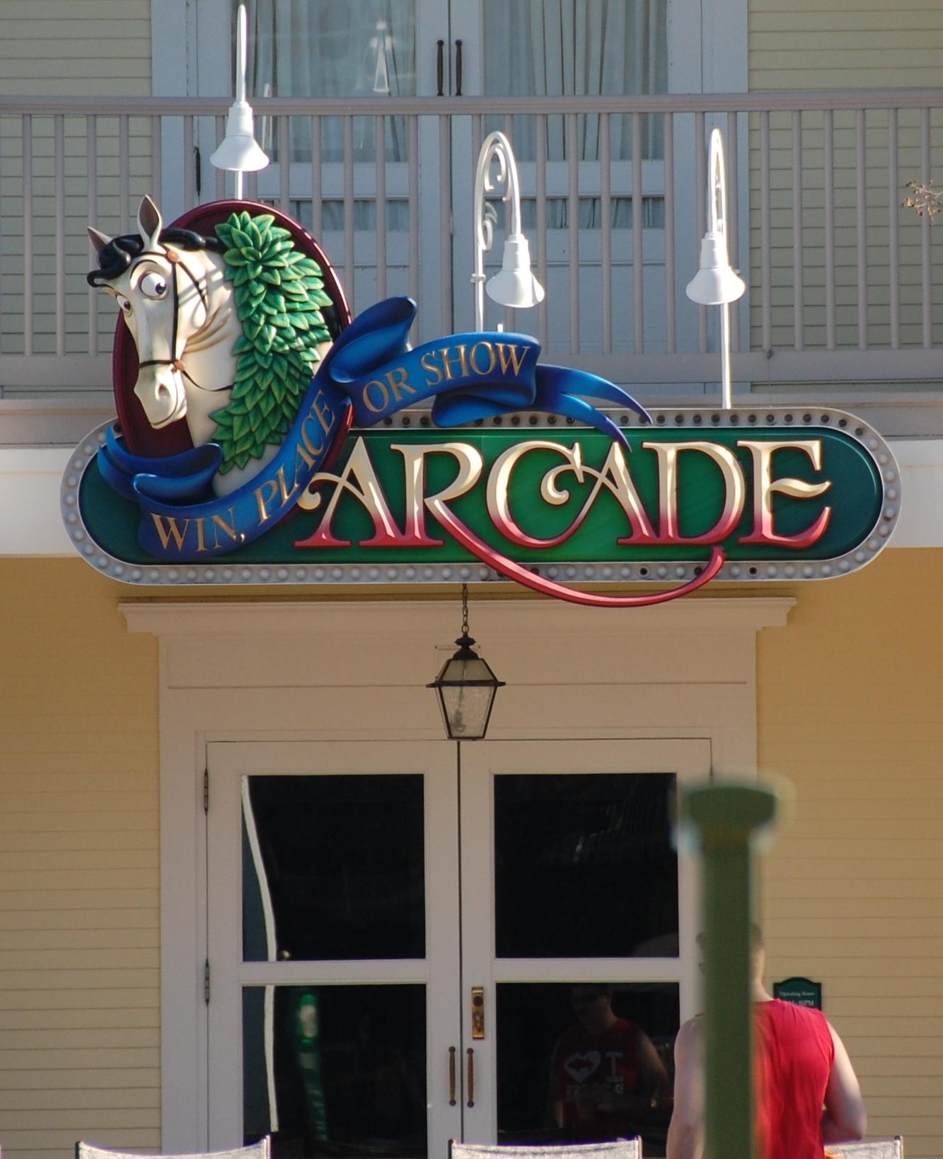 Saratoga Springs Arcade