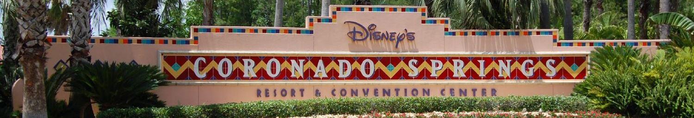 Disney's Coronado Springs Resort Sign