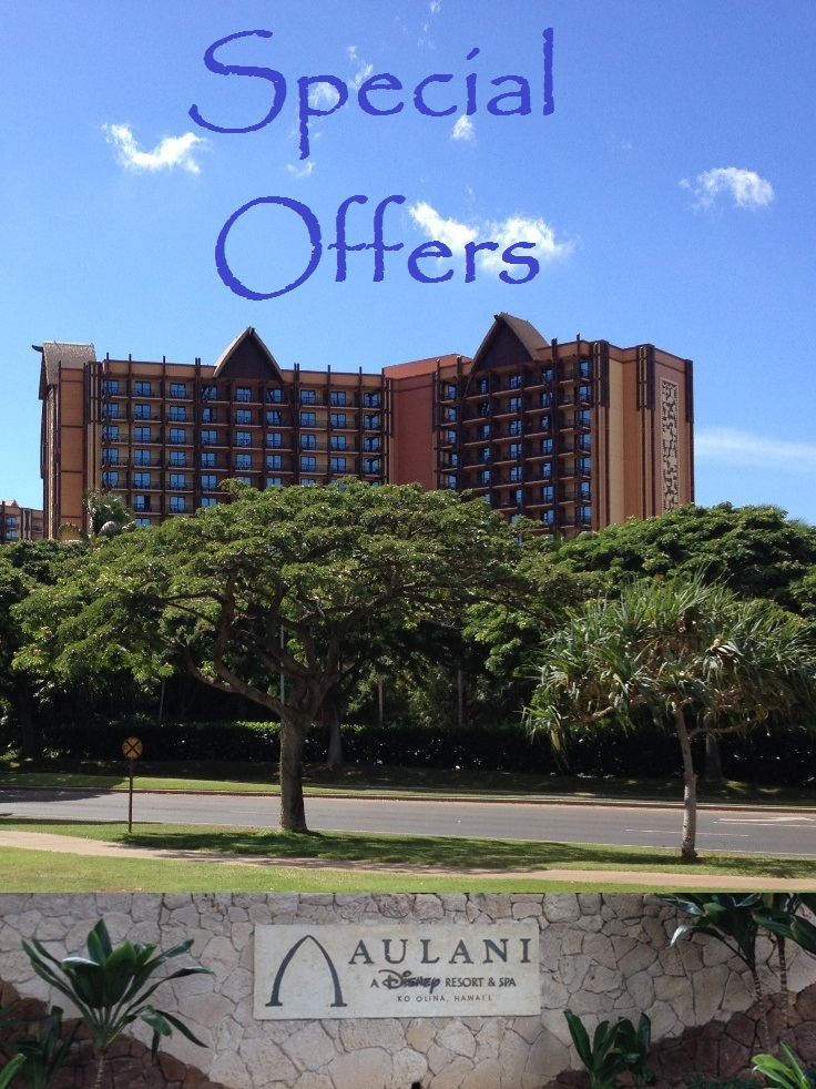 Disney's Aulani Resort in Hawaii - Discounts, Promotions & Special offers.