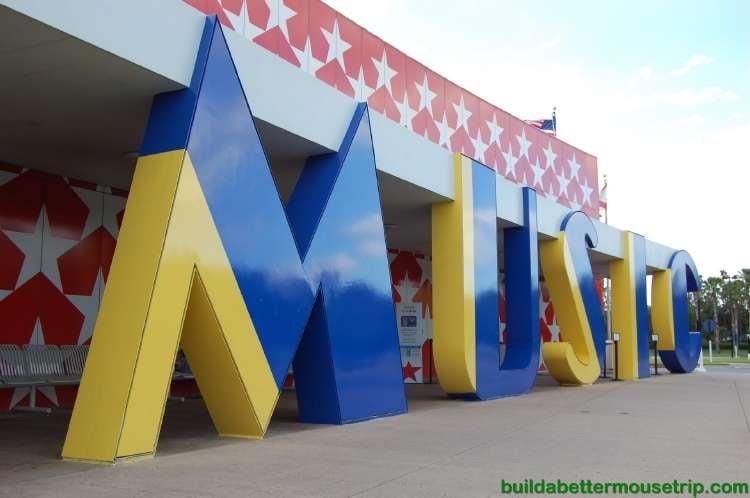 Disney's All-Star Music Resort Front Entrance