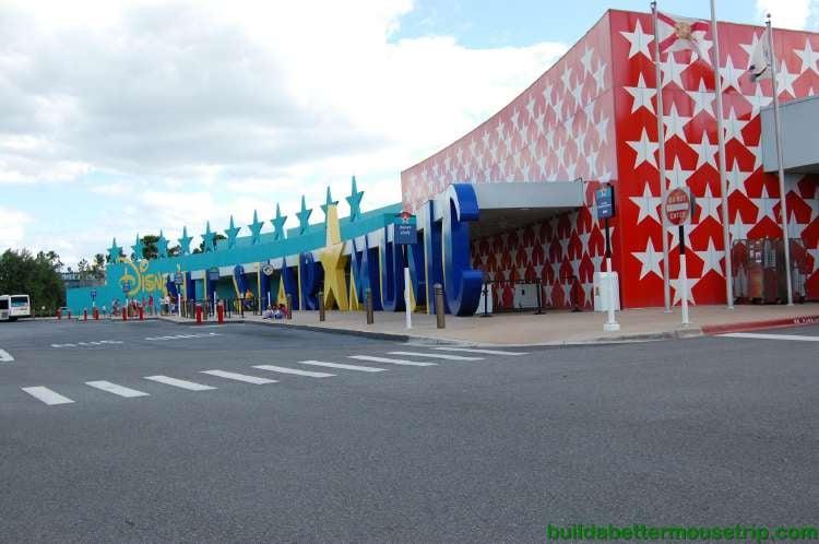 Front of Disney's All-Star Music Resort at Disney World