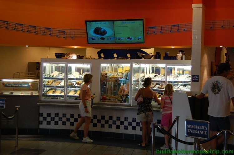 Intermission Food Court at Disney's All-Star Music Resort - Desserts and Pastries