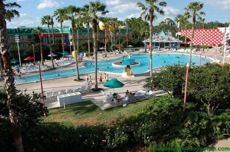 Calypso Pool featuring the Three Caballeros at Disney's All-Star Music Resort at Disney World