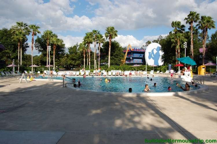 Piano pool at Disney's All-Star Music Resort / Disney World - Florida.