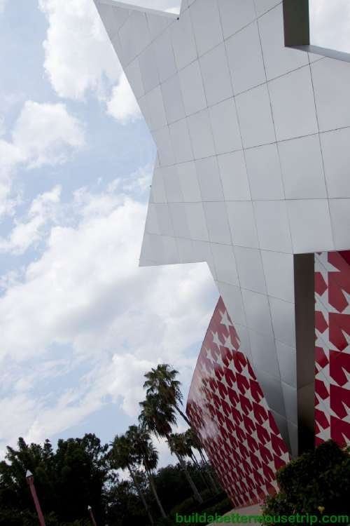 Giant star at Disney's All-Star Music Resort