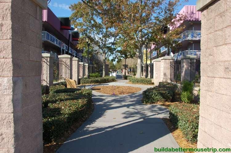 Courtyard at Disney's All-Star Music Resort