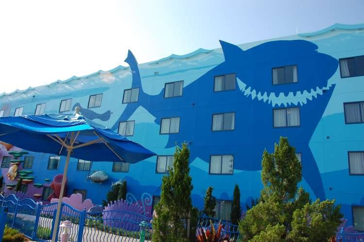 Art-of-Animation-465-Bruce-the-shark-a-building-at-the-Art-of-Animation-Resort.JPG