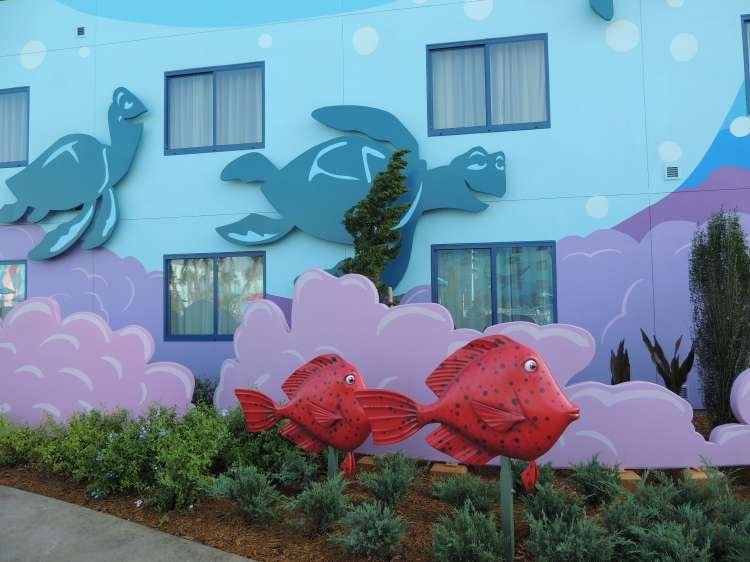 Art-of-Animation-467-turtles-and-fish-on-the-buildings-at-the-Art-of-Animation-Resort-at-Disney-World.JPG