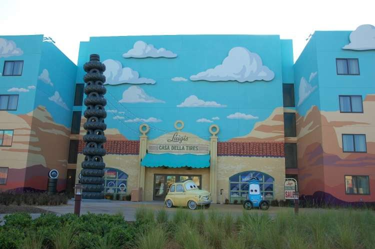 Art-of-Animation-512-Luigis-Casa-Della-tires-building-in-the-Cars-Section-of-disneys-Art-of-Animation-Resort.JPG