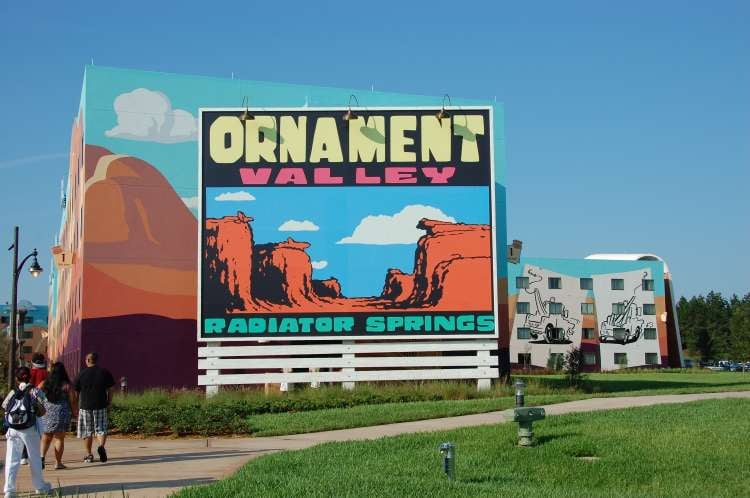 Art-of-Animation-570-Ornament-Valley-Sign-in-the-Cars-area-of-the-Art-of-Animation-Resort.JPG