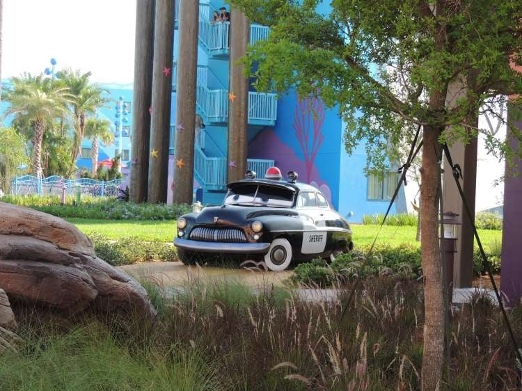 Art-of-Animation-600-Sheriff-car-statue-at-the-Disney-World-Art-of-Animation-Resort.JPG
