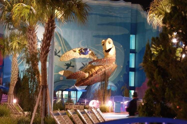 Disney's-Art-of-Animation-Crush-and-Dory-at-night.JPG