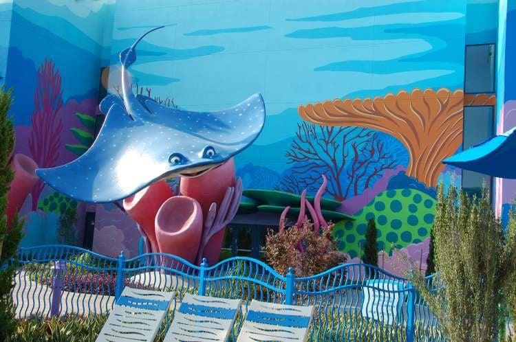 Disney's-Art-of-Animation-Finding-Nemo-Mr-Ray-Statue.JPG