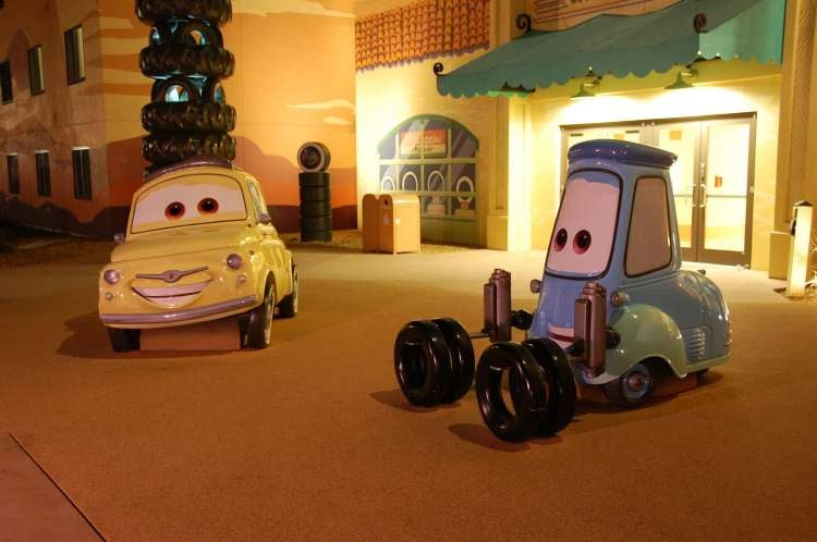 Disney's-Art-of-Animation-Luigi-and-Guido-at-night.JPG