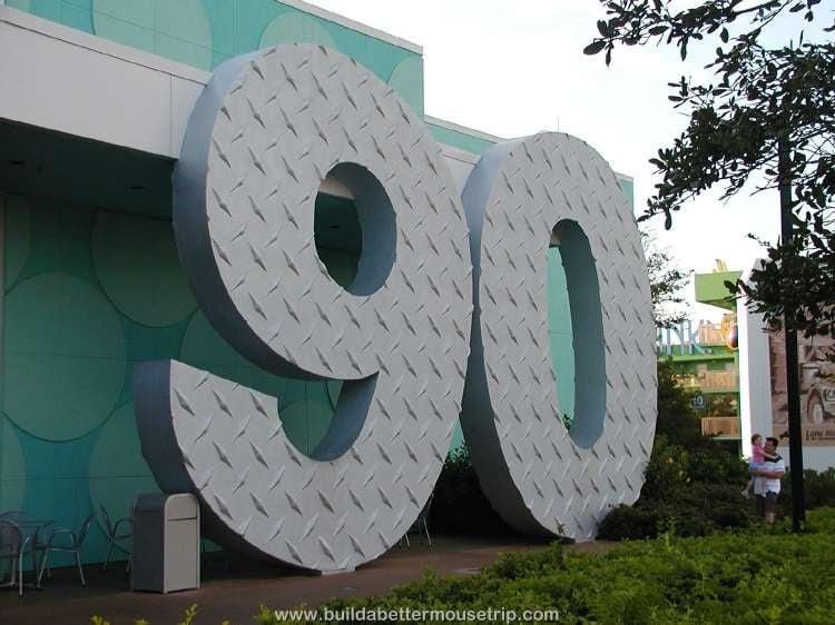 1990s area at Disney's Pop Century Resort