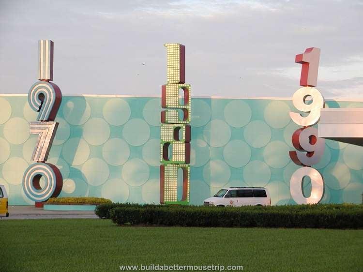 Disney's Pop Century Resort main building