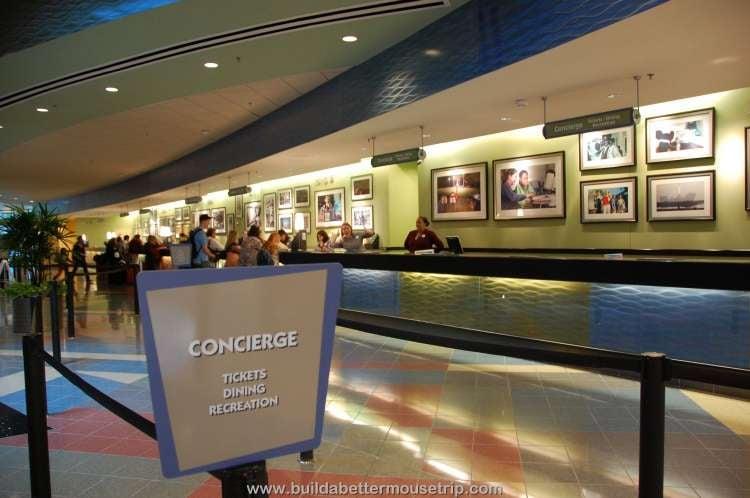 Disney's Pop Century Resort lobby