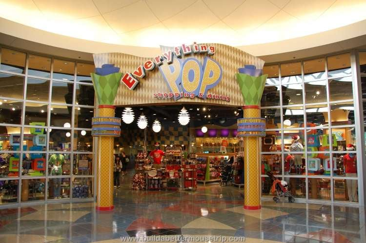 Entrance to Everything Pop Shopping & Dining at Disney's Pop Century Resort
