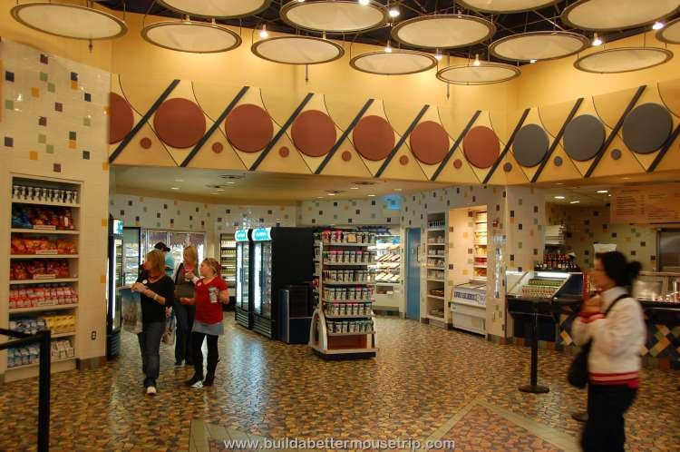 Grab and Go Market in the food court at Disney's Pop Century Resort