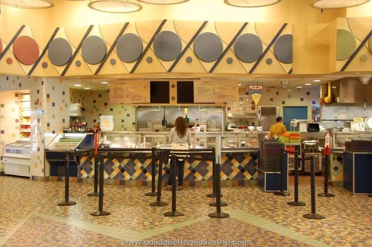 Food station at Disney's Pop Century Resort
