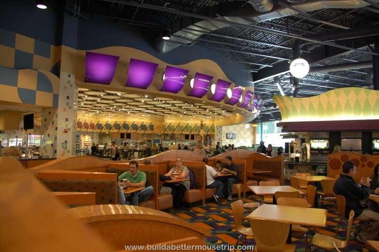 Dining room at Everything Pop / Disney's Pop Century Resort