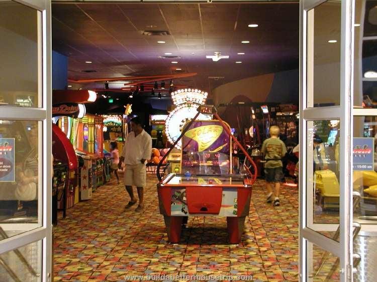 Fast Forward arcade at Disney's Pop Century Resort