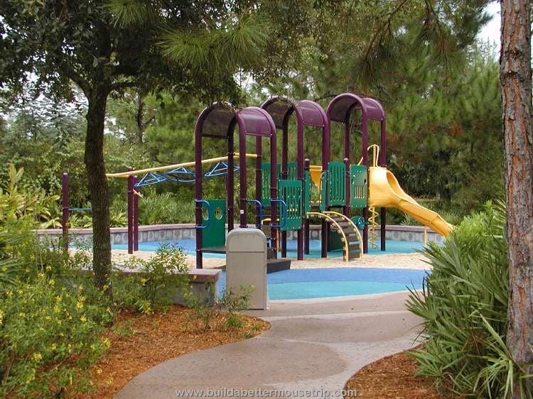 Children's playground at Disney's Pop Century Resort