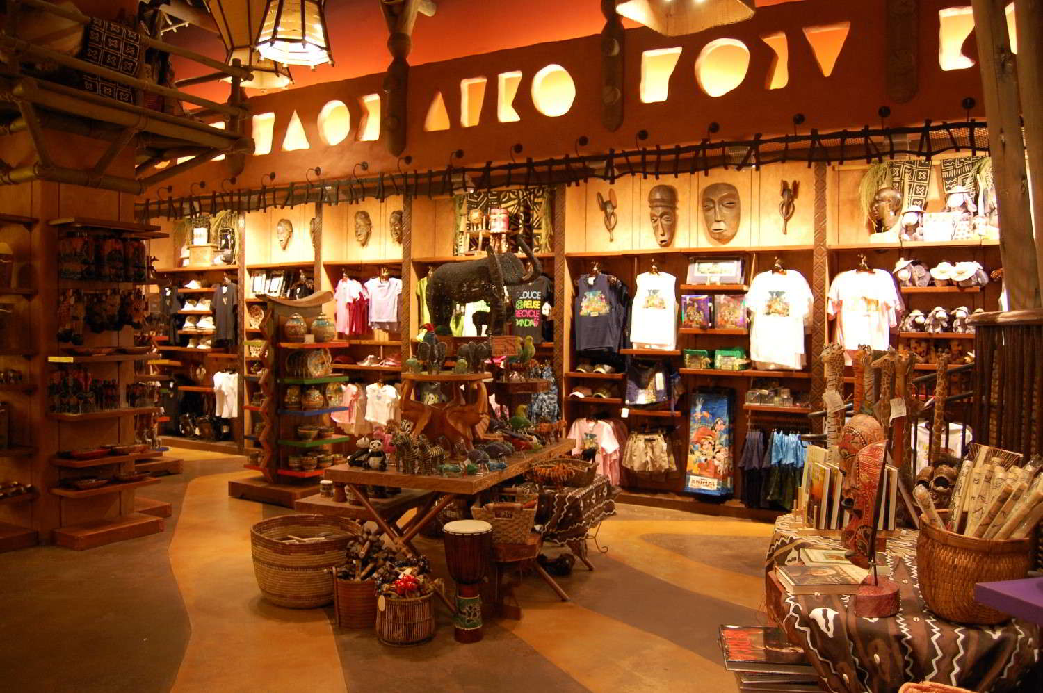Jambo House's Zawadi Marketplace is one of most unique gift shops at Disney World.