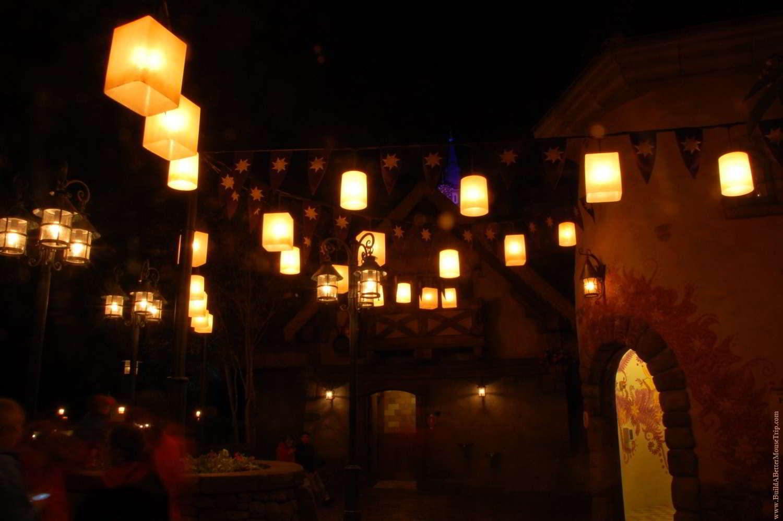 Tangled Recharging Area in the Magic Kingdom.