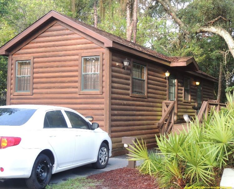 Cabin at Disney's Fort Wilderness Resort and Campground at Disney World.