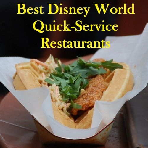 Best Disney World quick-service restaurants - Find Good food in the theme parks, downtown Disney, and at the Disney hotels even on a budget.