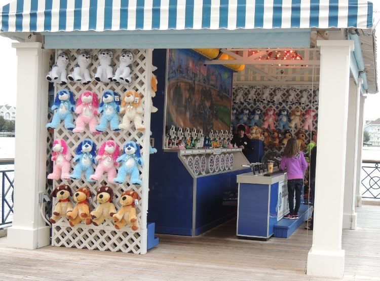 On of the midway games at Disney's Boardwalk - Disneyworld.