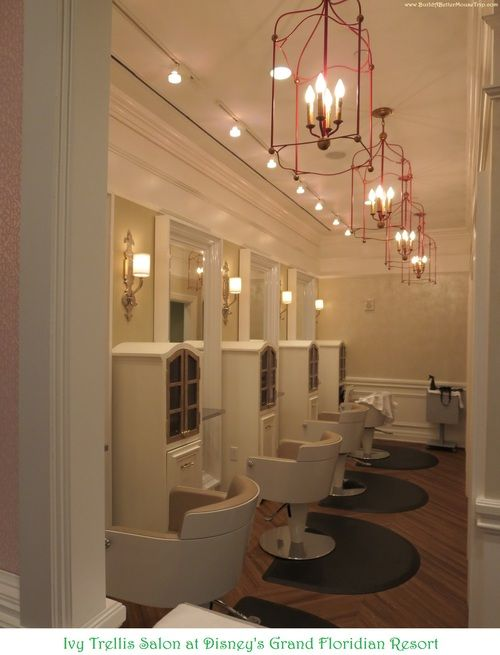 The Ivy Trellis Salon in the Grand Floridian Resort at Disney World.