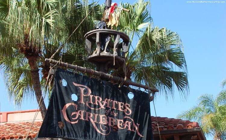 Finding Pirates at Disney World - Pirates of the Caribbean in the Magic Kingdom