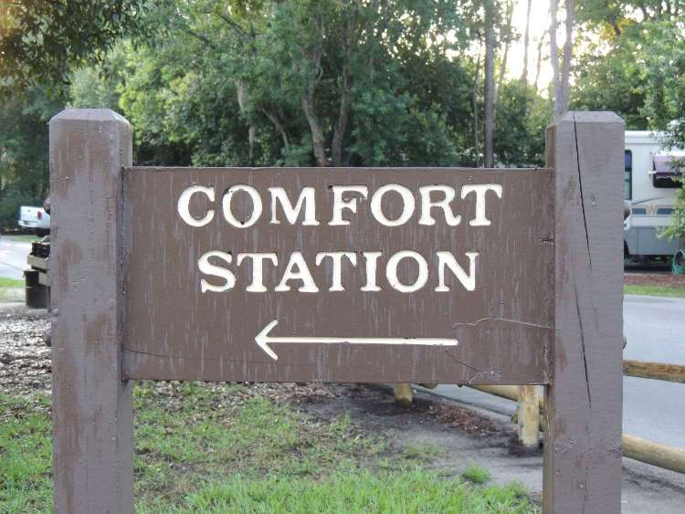 Disney's Fort Wilderness Campground Comfort Stations