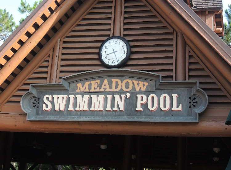 Meadow Swimmin' Pool at Disney's Fort Wilderness Resort & Campground / Disney World