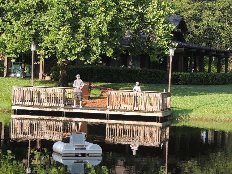 Fort Wilderness fishing dock
