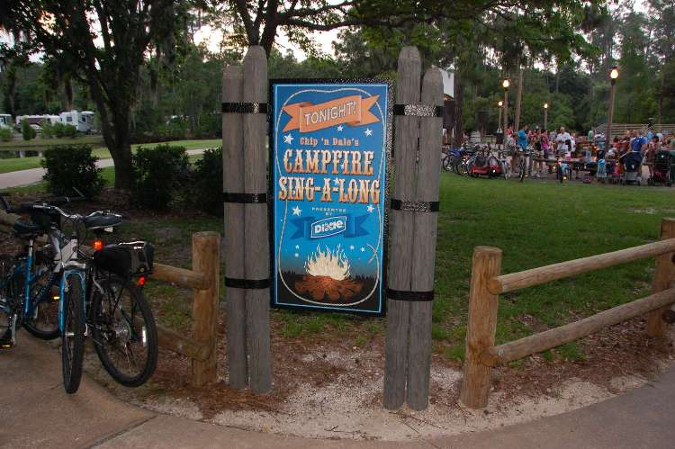 Chip & Dale's Campfire Sing-A-Long at Disney World