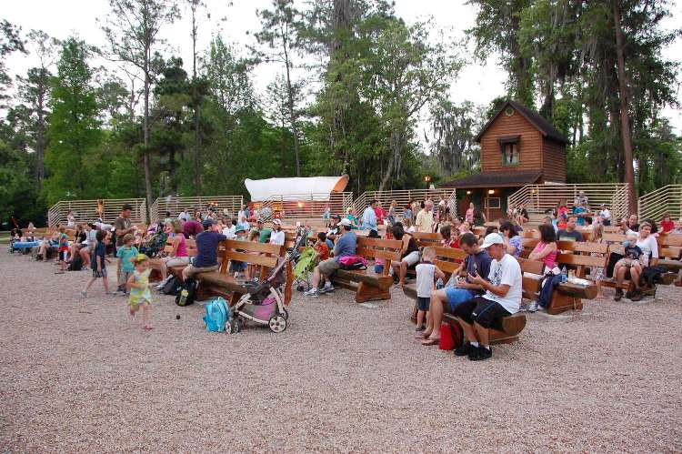 Campfire sing-along at Ft. Wilderness