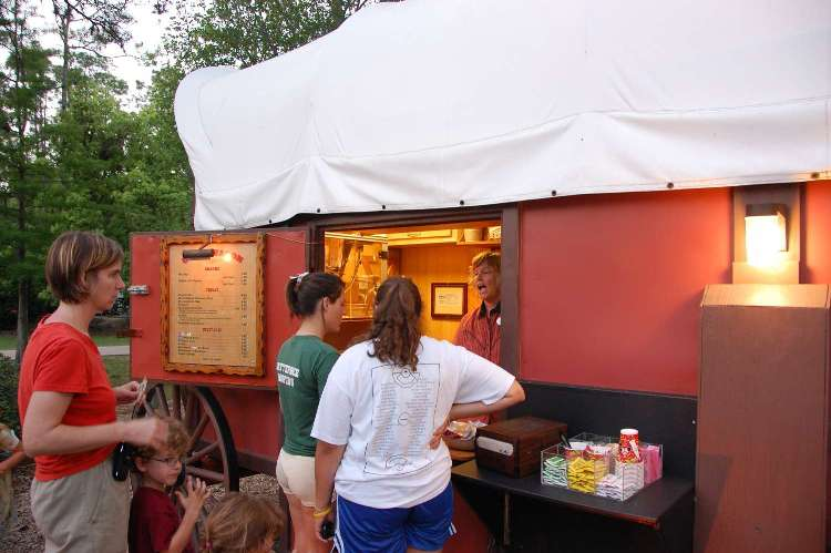 Chuckwagon snack bar at Disney's Fort Wilderness Resort & Campground