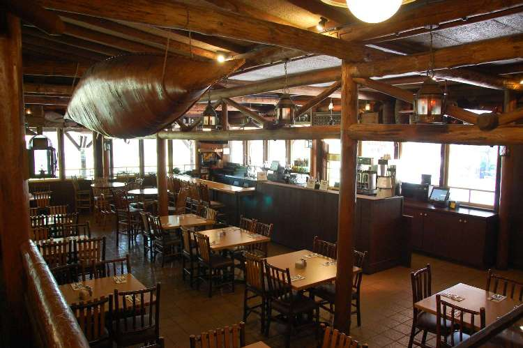 Inside Crockett's Tavern at Disney's Fort Wilderness Resort & Campground