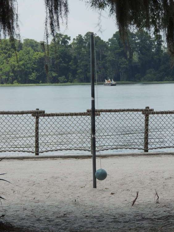 Play tetherball at Disney's Fort Wilderness Resort & Campground