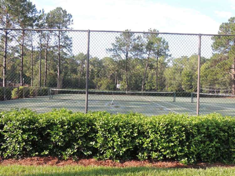 Disney's Fort Wilderness Resort & Campground Tennis Courts