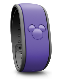 New purple Disney world Magic Band