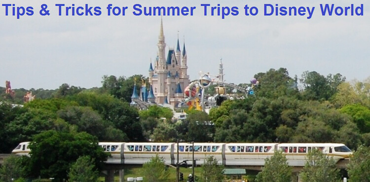 Disney World in Summer - Tips & Tricks for a great summer trip to the Walt Disney World Resort in Florida. Lots of great Disney Vacation Planninginformation at http://www.buildabettermousetrip.com/summer-at-disney-world/