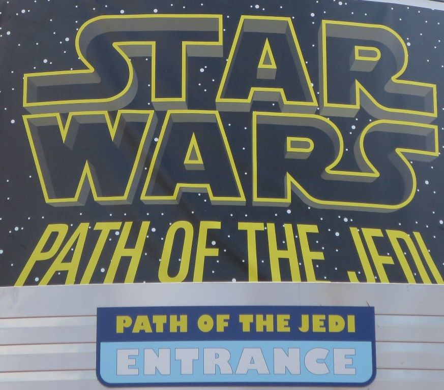 Star Wars: Path of the Jedi - a movie shown at Disney's HOllywood Studios (Disney World) featuring the highlights from all of the Star Wars films.