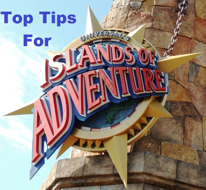 Top Tips for Islands of Adventure park at Universal Orlando in Florida.